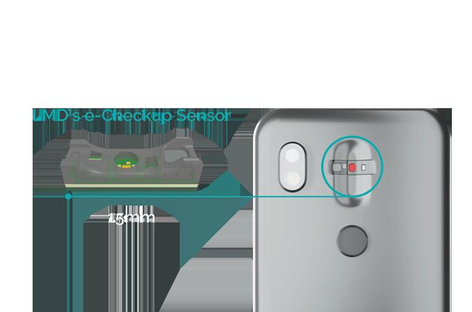 LMD's e-Checkup sensor